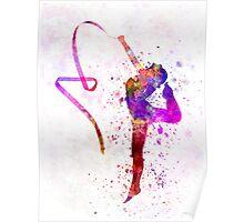 Rhythmic Gymnastics Poster