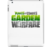 Plants VS Zombies # Garden Warfare iPad Case/Skin