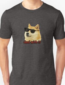 Doge - Deal with it. Unisex T-Shirt