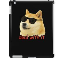 Doge - Deal with it. iPad Case/Skin