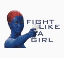 Fight Like a Girl by potterstinks