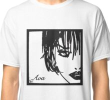 "Ava Lord ""A Dame to kill for"" Classic T-Shirt"