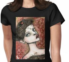 The nest in your hair Womens Fitted T-Shirt