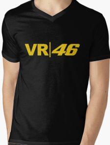 VR 46 Mens V-Neck T-Shirt