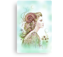 """""""THE ARIES"""" - Protective Angel for Zodiac Sign Canvas Print"""