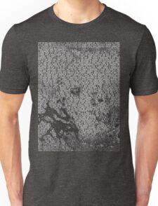 Radiohead - A Moon Shaped Pool Album Lyrics T-Shirt #1 Unisex T-Shirt