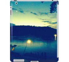 Fishing on the mekong. iPad Case/Skin