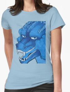 Blue dragon Womens Fitted T-Shirt