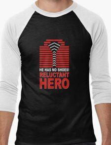 Reluctant Hero Men's Baseball ¾ T-Shirt