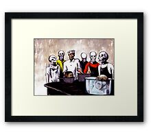 The Bastards' Cooking School of Satan Framed Print