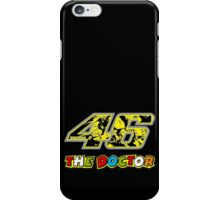 Valentino Rossi 46 # The Doctor iPhone Case/Skin