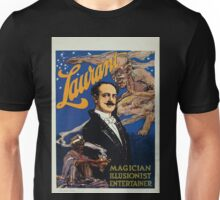 Performing Arts Posters Laurant magician illusionist entertainer 3030 Unisex T-Shirt