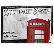 Sunlight Phone Box Poster