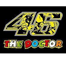 Valentino Rossi 46 # The Doctor Photographic Print