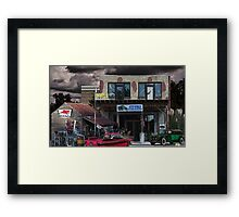 Auto World Framed Print