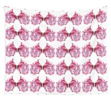 Rose of Pinks Wall Tapestry