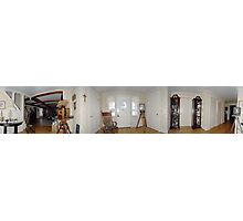 360 view of the front hall Photographic Print