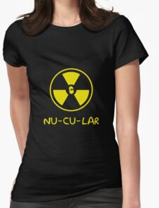 NUCULAR Womens Fitted T-Shirt