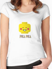 PIKA PIKACHU Women's Fitted Scoop T-Shirt