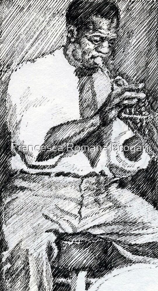 Louis Armstrong  by Francesca Romana Brogani