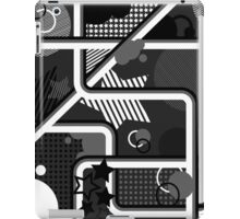 Pattern/Design (Black & White) iPad Case/Skin
