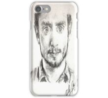 Daniel Radcliffe Ink Pen Tribute iPhone Case/Skin