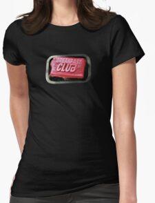 Breakfast Fight Club Womens Fitted T-Shirt