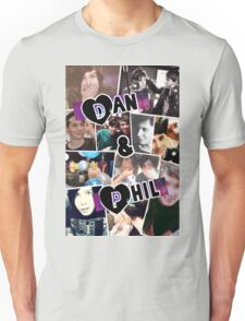 Dan and Phil Collage Unisex T-Shirt