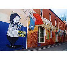 Prince Lane, Perth Photographic Print