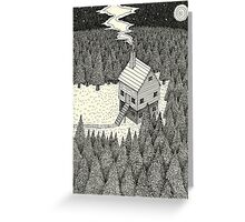 The Middle Of Nowhere Greeting Card
