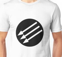 Antifacist Circle / Iron Front logo Unisex T-Shirt