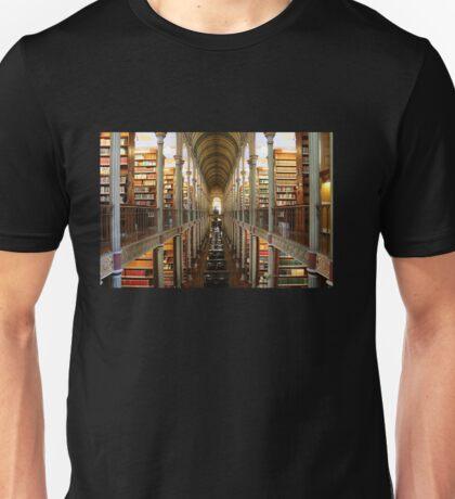 The Historical Copenhagen University Library, DENMARK Unisex T-Shirt