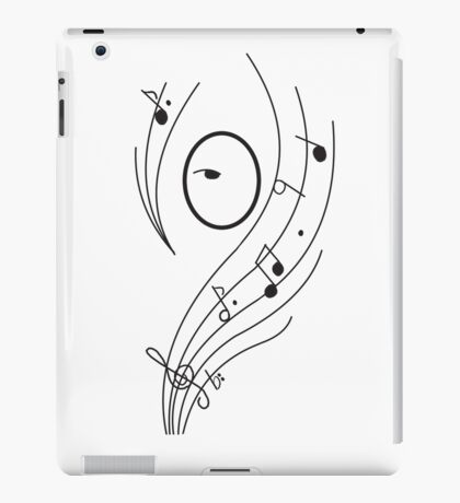 music cover iPad Case/Skin
