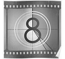 Vintage Countdown Film Poster