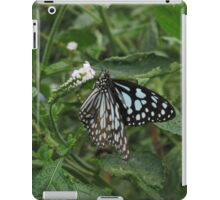 Paper Kite Butterfly on a White Flower iPad Case/Skin