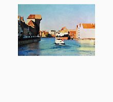 Gdansk old town in watercolor Unisex T-Shirt
