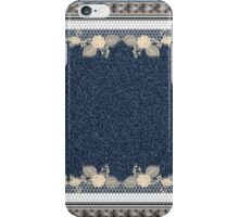 Denim Jeans Style  iPhone Case/Skin