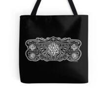 Dice Deco D20 for Dark Items! Tote Bag