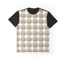 US one Nickel coin (five cents) isolated on white background  Graphic T-Shirt