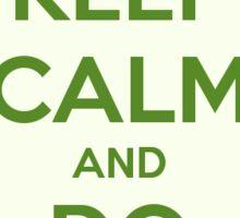 Keep Calm and Do Yoga Sticker