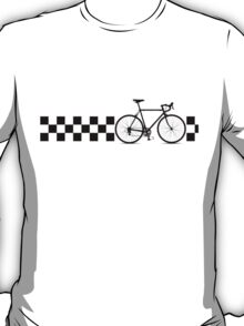 Bike Stripes Peugeot (Retro) T-Shirt