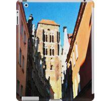 Gdansk old town in watercolor iPad Case/Skin