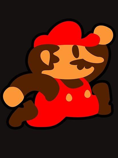 Old School Mario by likelikes