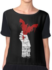 Blood, Snow & Hate Chiffon Top