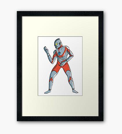 Ultraman Framed Print