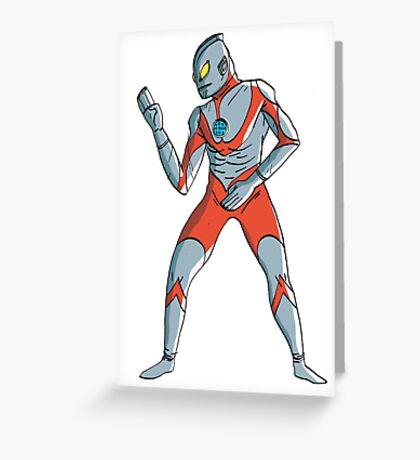 Ultraman Greeting Card