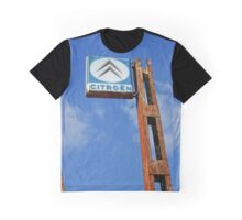 Old Car Billboard Graphic T-Shirt