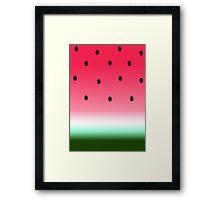 Summer Watermelon  Framed Print