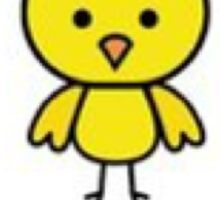 Yoga Chick Sticker