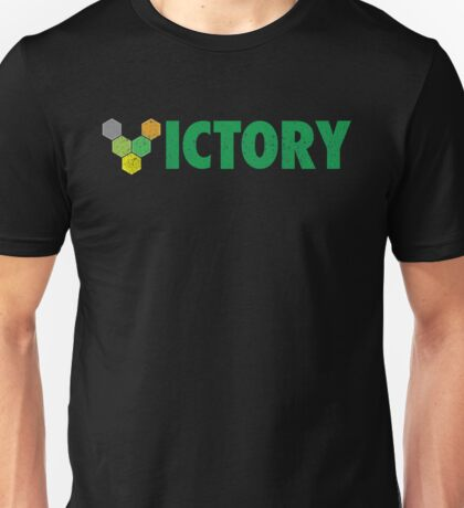 V VICTORY (Catan) distressed version Unisex T-Shirt